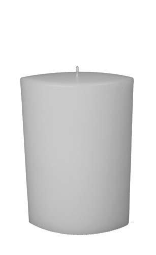 Kerze Oval spitz, 22 x 15 x 8 cm