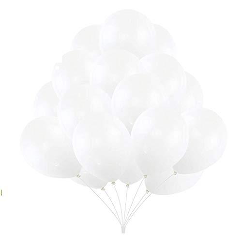 50 Luftballons –Naturkautschuk und 100% biologisch abbaubar