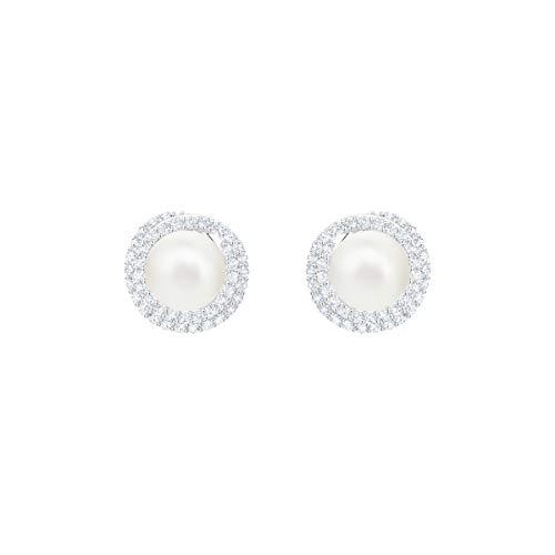 Kleine Ohrstecker mit Perle