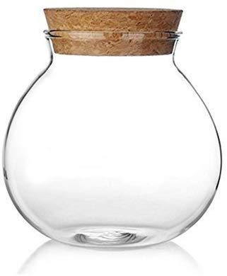 Rundes Candy Bar zur Hochzeits Glas mit Korkdeckel