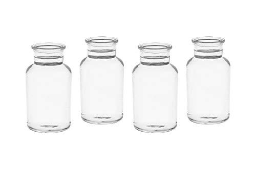 12 Apothekerflaschen 12,5 cm Höhe