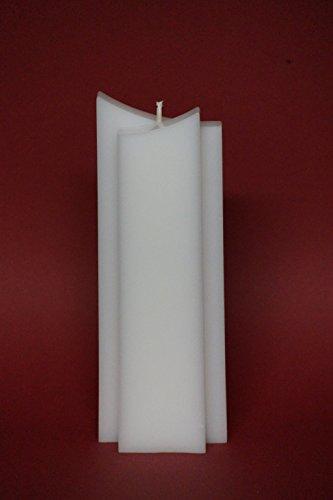 Kerzenrohling Doppelspitz 21 x 8 x 4 cm