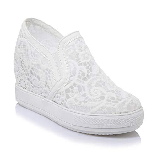 Plateau-Sneaker mit Keilabsatz
