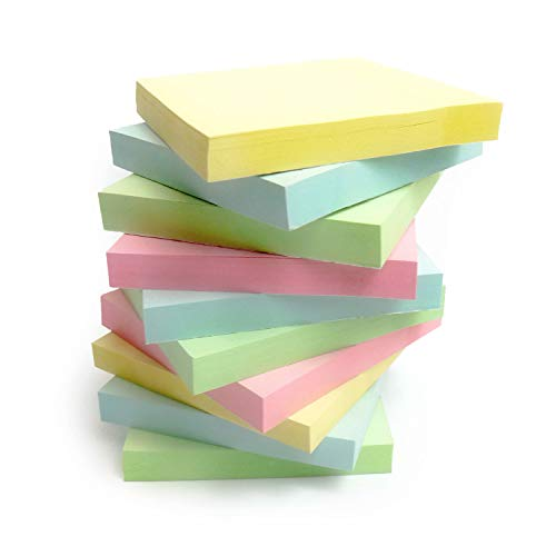 Post-its Pastell