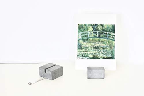 Platzkartenhalter aus Beton, 2 Stück