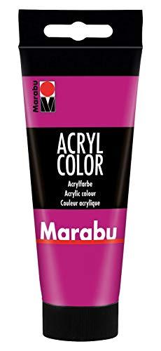 Verschiedenste, trendige Acrylfarben in der Tube