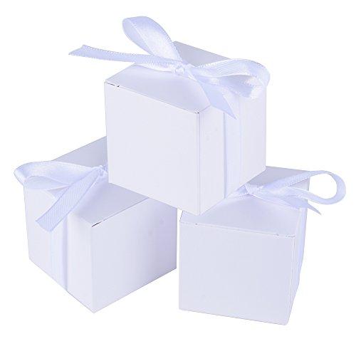 100 Gastgeschenk-Boxen in Weißr