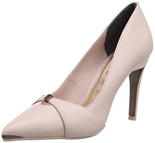 Braut-Pumps in Nude