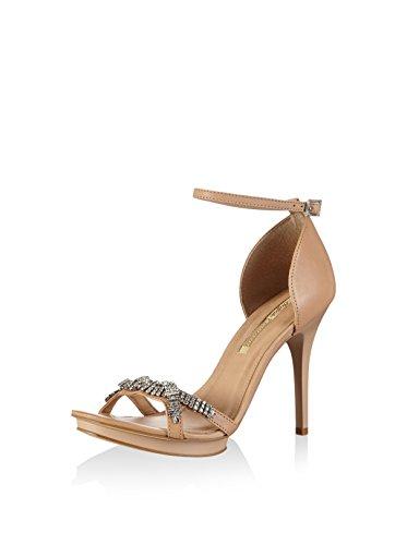 Braut-Sandalette in Nude
