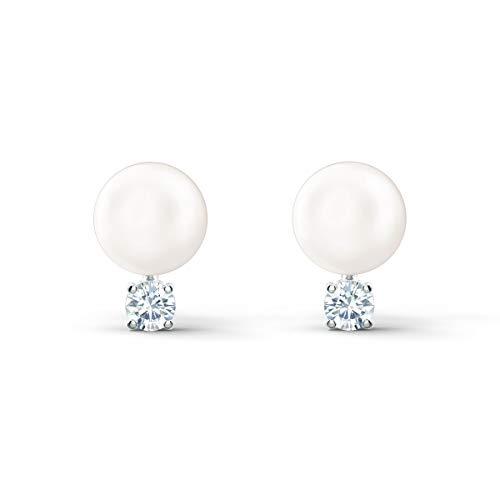 Braut Ohrringe mit Perlen und Strass