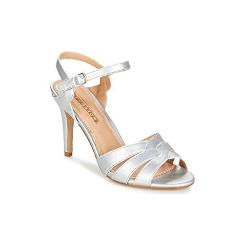 Braut-Stilettos in Silber