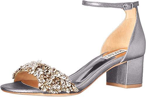 Braut-Sandalen im Metallic-Look