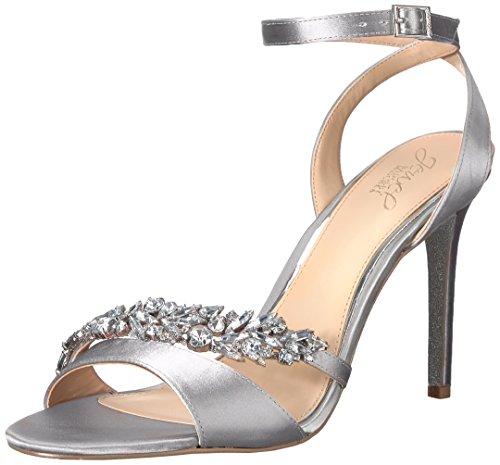 Brautschuhe Sandalen mit Strass-Riemchen