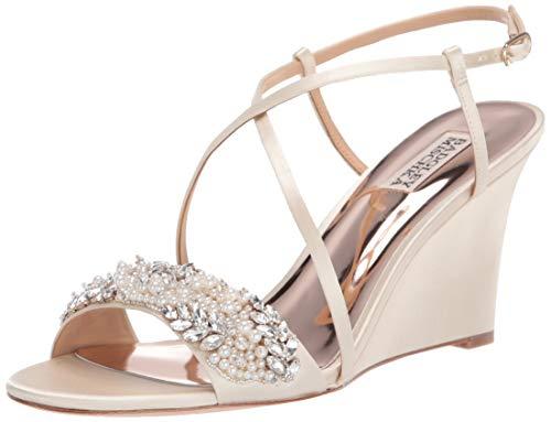 Brautschuhe Keilabsatz-Sandale