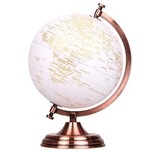 Globus mit Golddruck