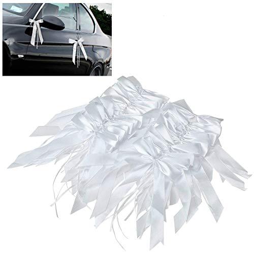 Satin-Autoschleifen zur Hochzeit