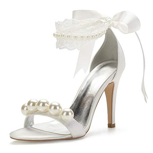 Brautschuhe Sandalen in Weiß