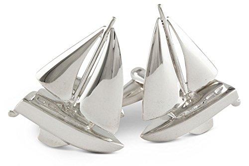 Segelboot Manschettenknöpfe für Seemänner