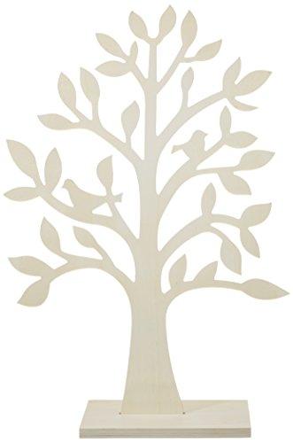 Hölzerner Wunschbaum zum basteln