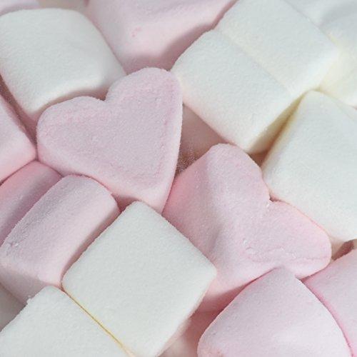 Marshmallows Rosa und Weiß