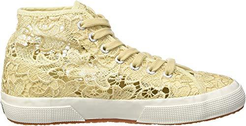 Hohe Braut-Sneaker mit Makramee
