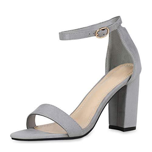 Brautschuhe Sandalen mit Blockabsatz