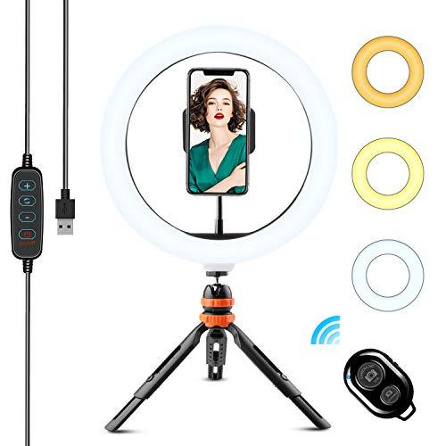 Licht und Selbstauslöser für die Fotobox mit Handy