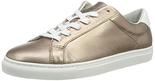 Gold schimmernde Braut-Sneaker