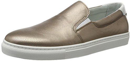 Braut-Sneaker Slipper in Gold