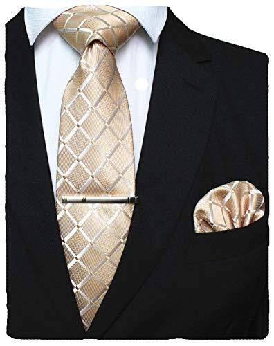 Krawatte und Einstecktuch zur Hochzeit