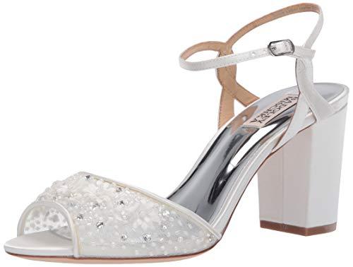Brautschuhe Sandaletten mit Blumen