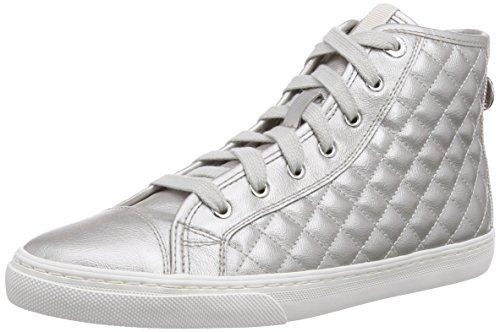 Hohe Brautschuhe Sneaker in Metallic