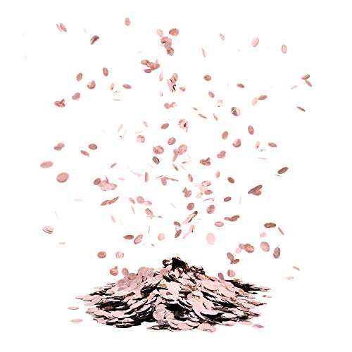 Metallic-Konfetti Pink oder Roségold