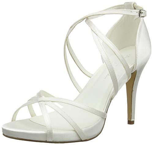 Braut-Sandalen mit Knöchelriemen