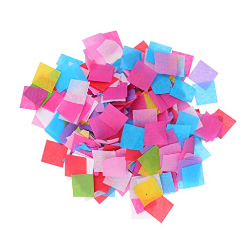 Buntes quadratisches Konfetti