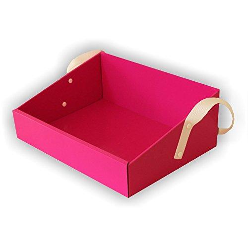 Pinker Bauchladen für den JGA