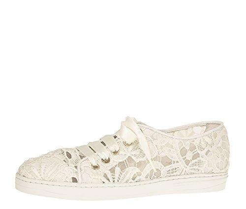 Bequeme Hochzeitsschuhe Sneaker in Creme