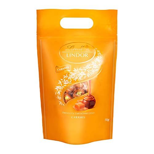 Lindor Caramel mit goldener Verpackung