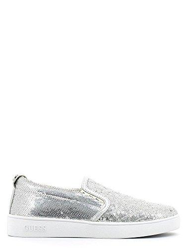 Silberne Braut-Sneaker mit Pailletten