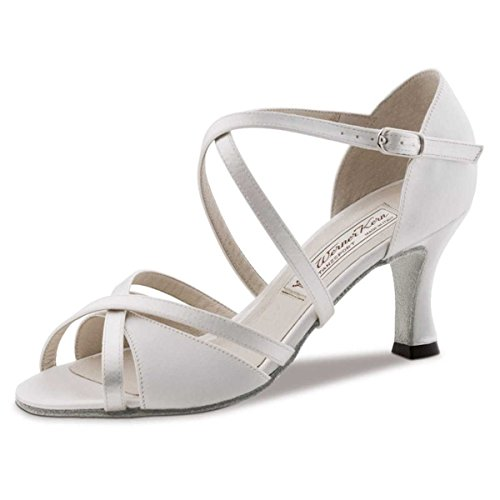 Braut-Sandalen mit Ledersohle