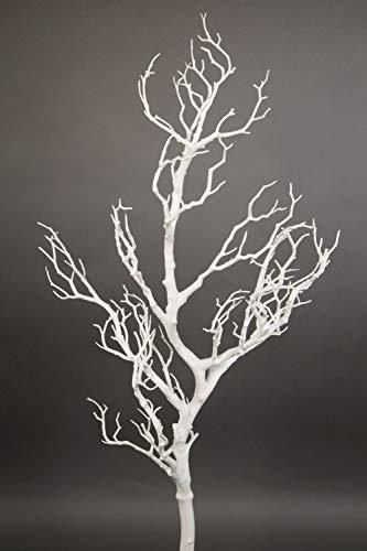 Künstlicher weißer Dekoast aus Kunststoff