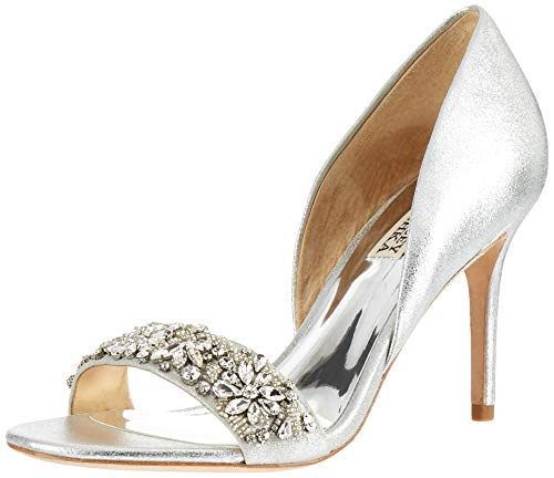 Braut-Pumps mit Strass