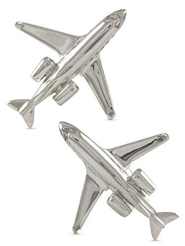 Flugzeug Manschettenknöpfe für Piloten