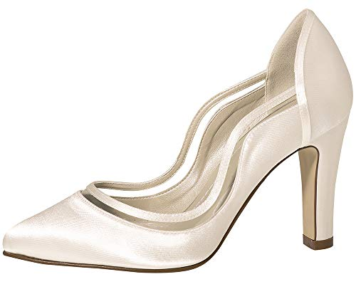 Braut-Pumps in Ivory