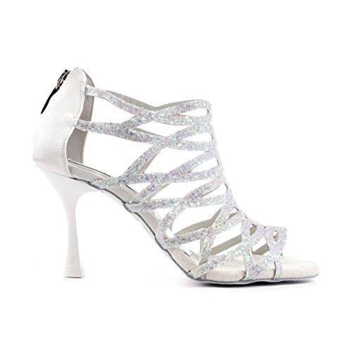 Braut-Sandalen mit Glitzerriemchen