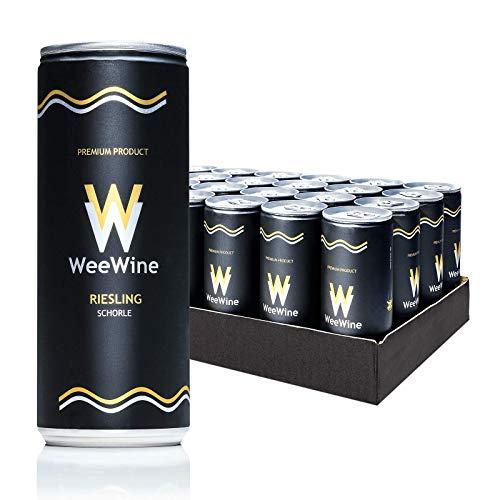 Weißweinschorle aus pfälzer Qualitätswein   feinherb   24 Stück (0,25 l)