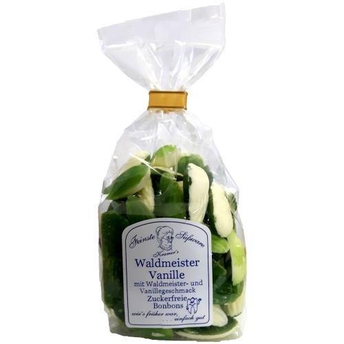 Grüne Waldmeister Vanille Bonbons