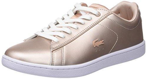 Roségoldene metallic Braut-Sneaker