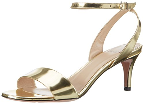 Goldene Braut-Sandalen