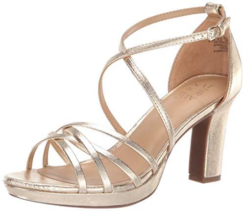 Goldene Braut-Sandaletten